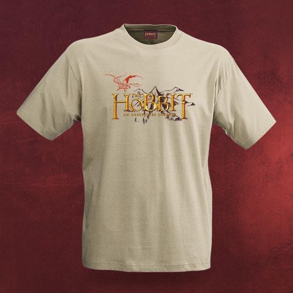 Der Hobbit - Eine unerwartete Reise - Logo T-Shirt, beige