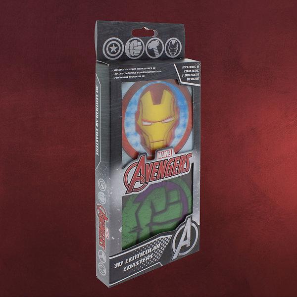 Avengers - 3D Lenticular Untersetzer