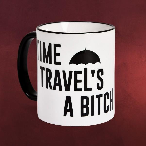 Time Travel's a Bitch Tasse für The Umbrella Academy Fans