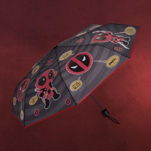 Deadpool - Chibi Schirm mit Aqua Effekt