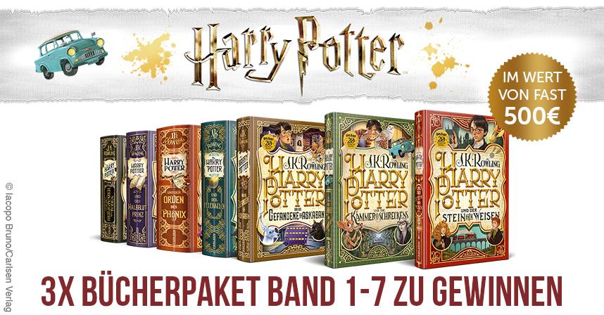 Die Neue Harry Potter Buchedition Gewinnspiel Im Wert Von 500 Elbenwald De