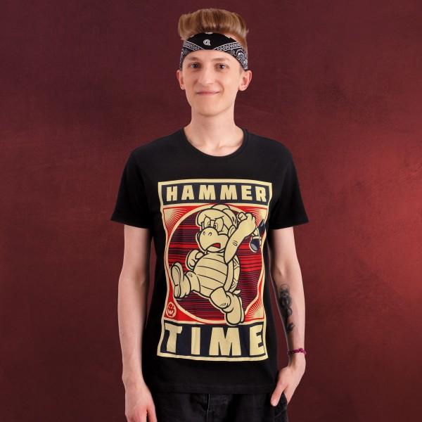 Super Mario - Hammertime T-Shirt schwarz