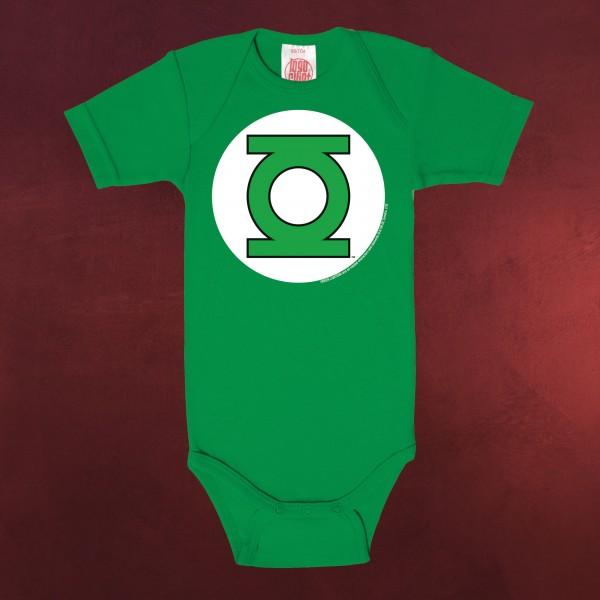Green Lantern - Logo Baby Body grün