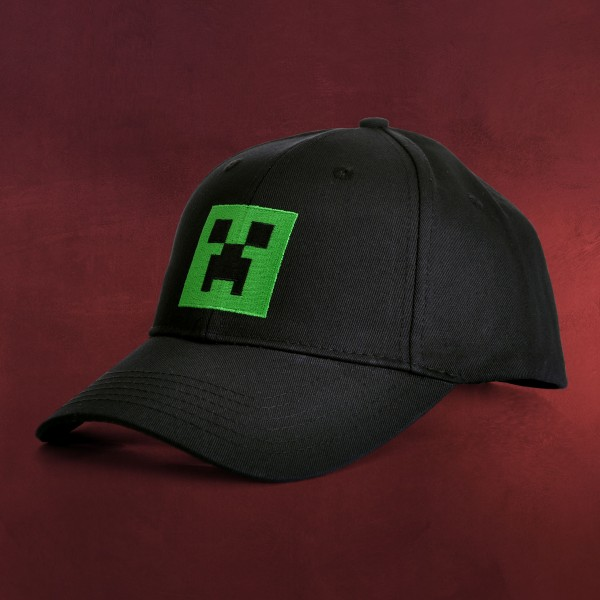 Minecraft - Creeper Basecap schwarz