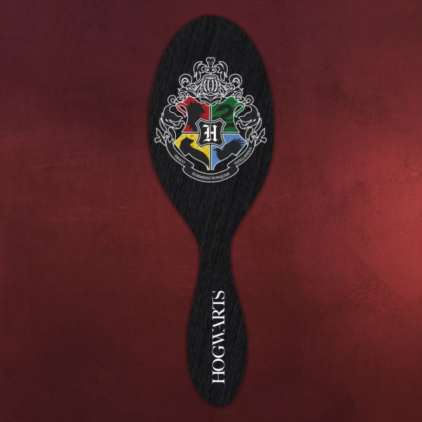 Harry Potter - Hogwarts Wappen Haarbürste