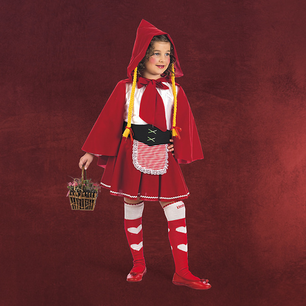 Rotkäppchen Märchenkostüm Kinder