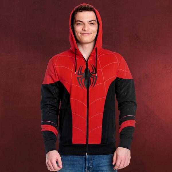 Spider-Man - Red & Black Suit Kapuzenjacke
