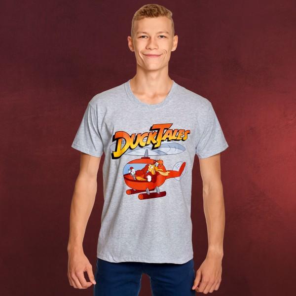 DuckTales - Pilot Quack T-Shirt grau