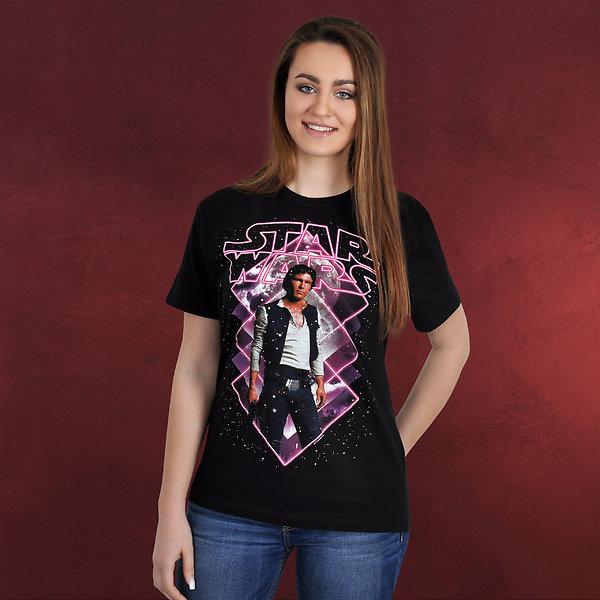 Star Wars - Han Solo T-Shirt schwarz