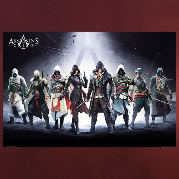 Assassins Creed - Assassinen Maxi Poster