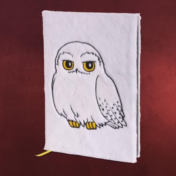 Harry Potter - Hedwig Plüsch Premium Notizbuch A5