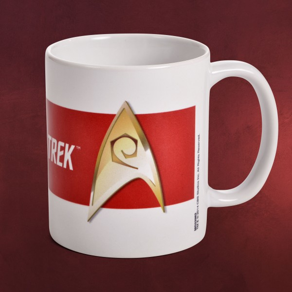 Star Trek - Technik Abzeichen Tasse