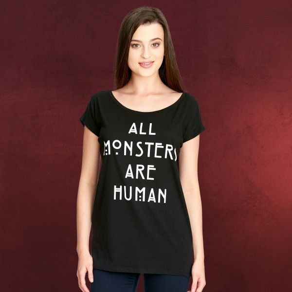 American Horror Story - All Monsters Are Human T-Shirt Damen Loose Fit
