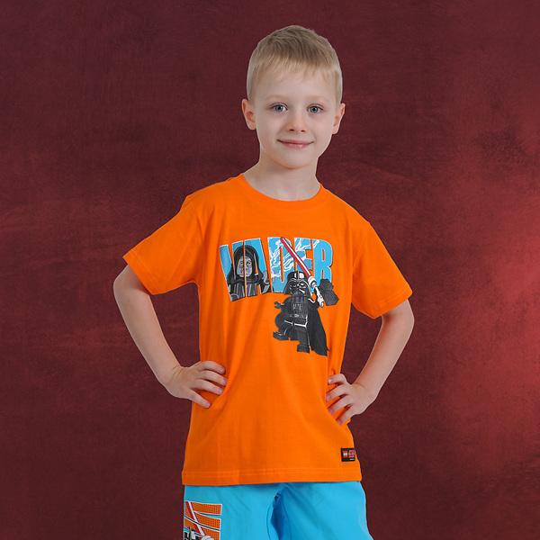 LEGO Star Wars - Darth Vader vs. Darth Sidious Kinder T-Shirt orange