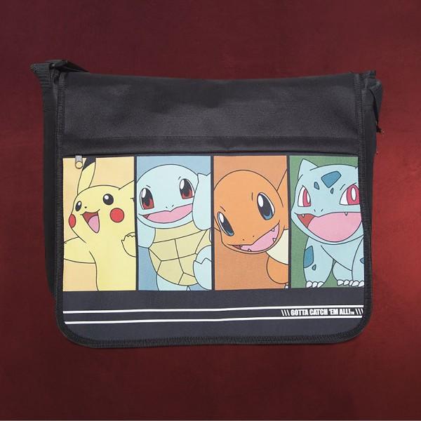Pokemon - Group Tasche schwarz