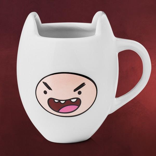 Adventure Time - Finn Tasse weiß