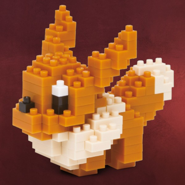 Pokemon - Evoli nanoblock Mini Baustein Figur