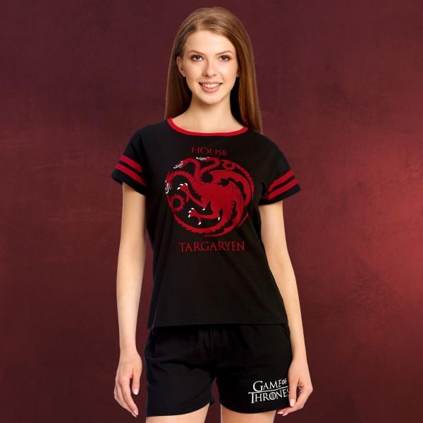 Game of Thrones - Targaryen Wappen Pyjama kurz Damen
