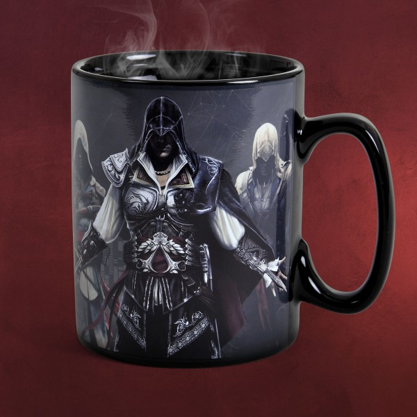 Assassins Creed - Brotherhood Thermoeffekt Tasse