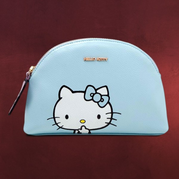 Hello Kitty - Be Quiet Kosmetiktasche blau