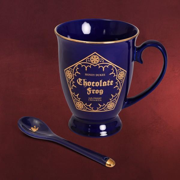 Harry Potter - Schokofrosch Tasse mit Löffel