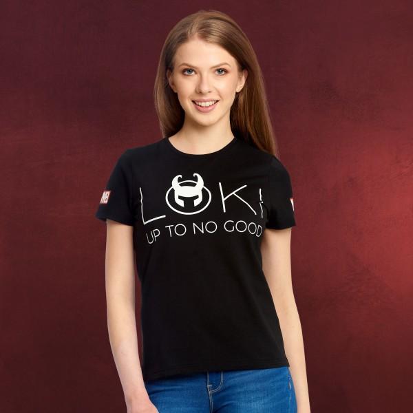 Loki - Up To No Good T-Shirt Damen schwarz
