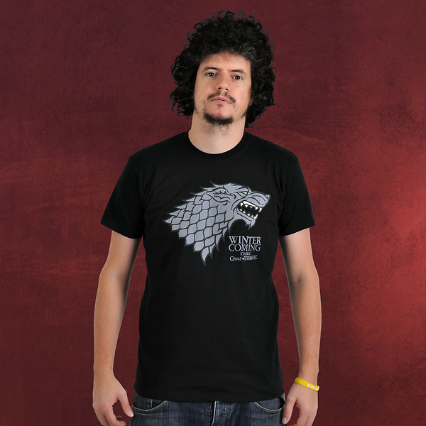 Game of Thrones - House Stark Wappen T-Shirt