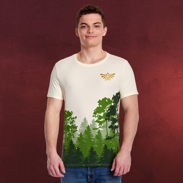 Zelda - Hyrule Green Forest T-Shirt