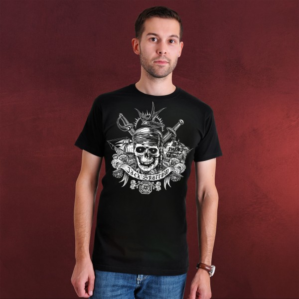 Fluch der Karibik - Jack Sparrow Skull T-Shirt
