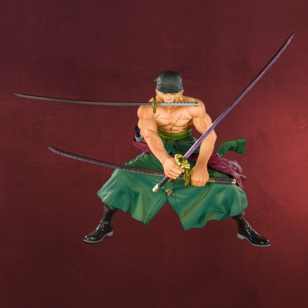One Piece - Piratenjäger Zoro Figur 11 cm