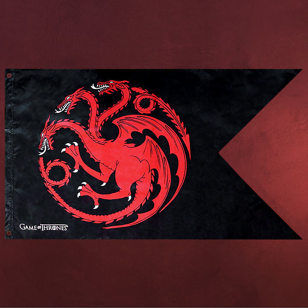 Game of Thrones - House Targaryen Flagge