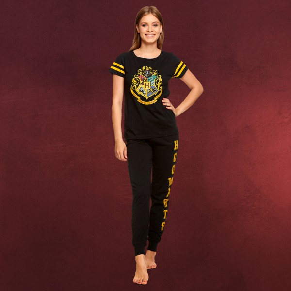 Harry Potter - Hogwarts Wappen Pyjama Damen