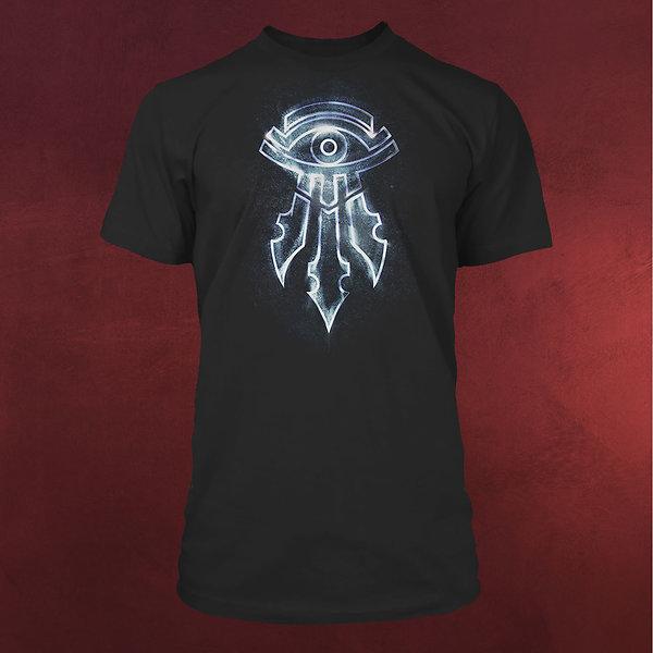 Warcraft - Magier Symbol T-Shirt schwarz