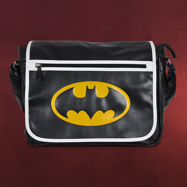 Batman - Logo Messenger Bag schwarz