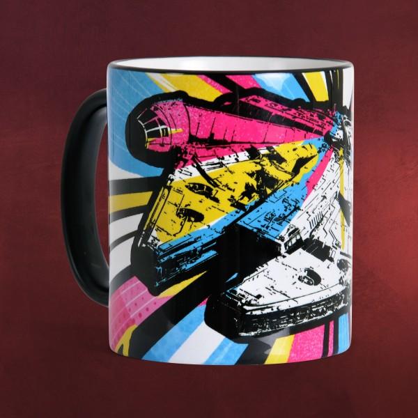 Star Wars - Millennium Falcon Pop-Art Tasse