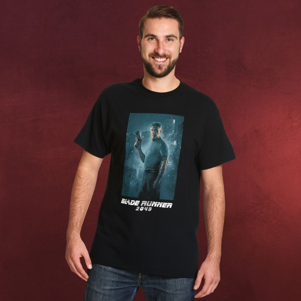 Blade Runner - Deckard Full Shot T-Shirt schwarz