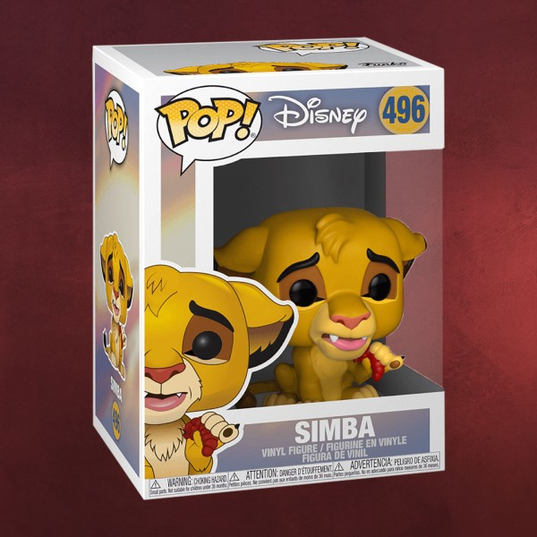 König der Löwen - Simba Funko Pop Figur