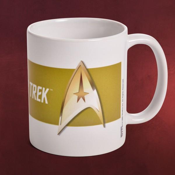 Star Trek - Kommando Abzeichen Tasse
