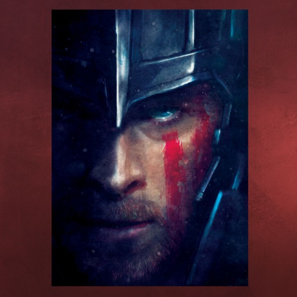 Thor Marvel Metall Poster