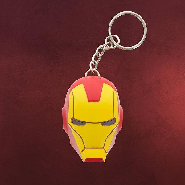 Iron Man - Schlüsselanhänger mit LED