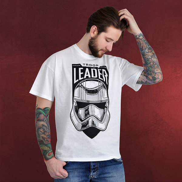 Star Wars - Trooper Leader T-Shirt weiß