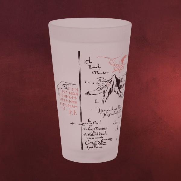 Der Hobbit - Erebor mit Smaug Kälteeffekt Glas