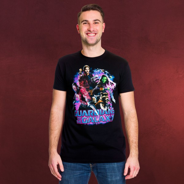 Guardians of the Galaxy - Collage Vol.2 T-Shirt schwarz