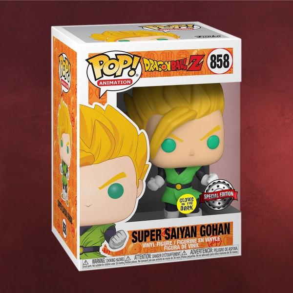 Super Saiyajin Gohan Glow in the Dark Funko Pop Figur - Dragon Ball Z