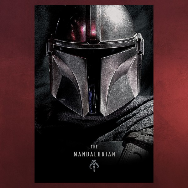The Mandalorian Dark Maxi Poster - Star Wars