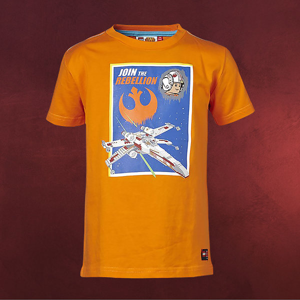 LEGO Star Wars - Join The Rebellion T-Shirt für Kinder orange