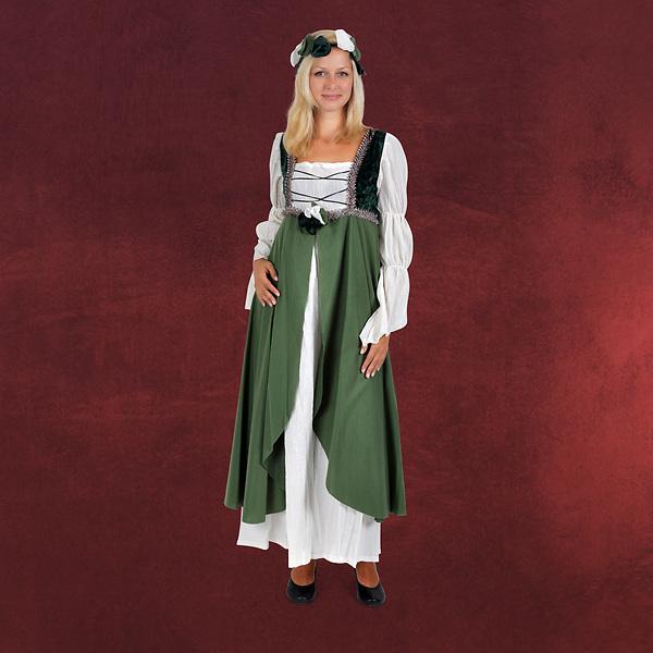 Miss Clarisa - Mittelalterkostüm grün