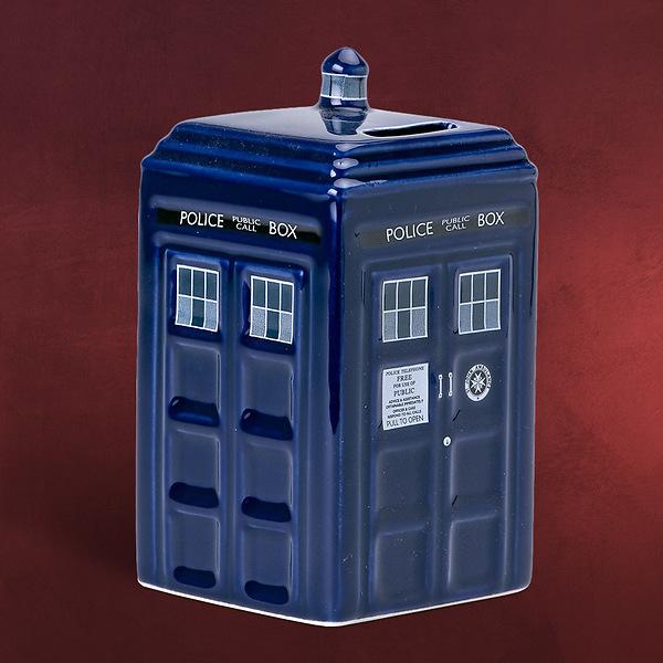 Doctor Who - Tardis Spardose Keramik
