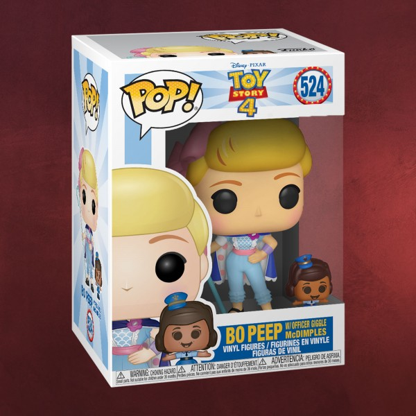 Toy Story - Bo Peep mit Officer Giggle McDimples Funko Pop Figur