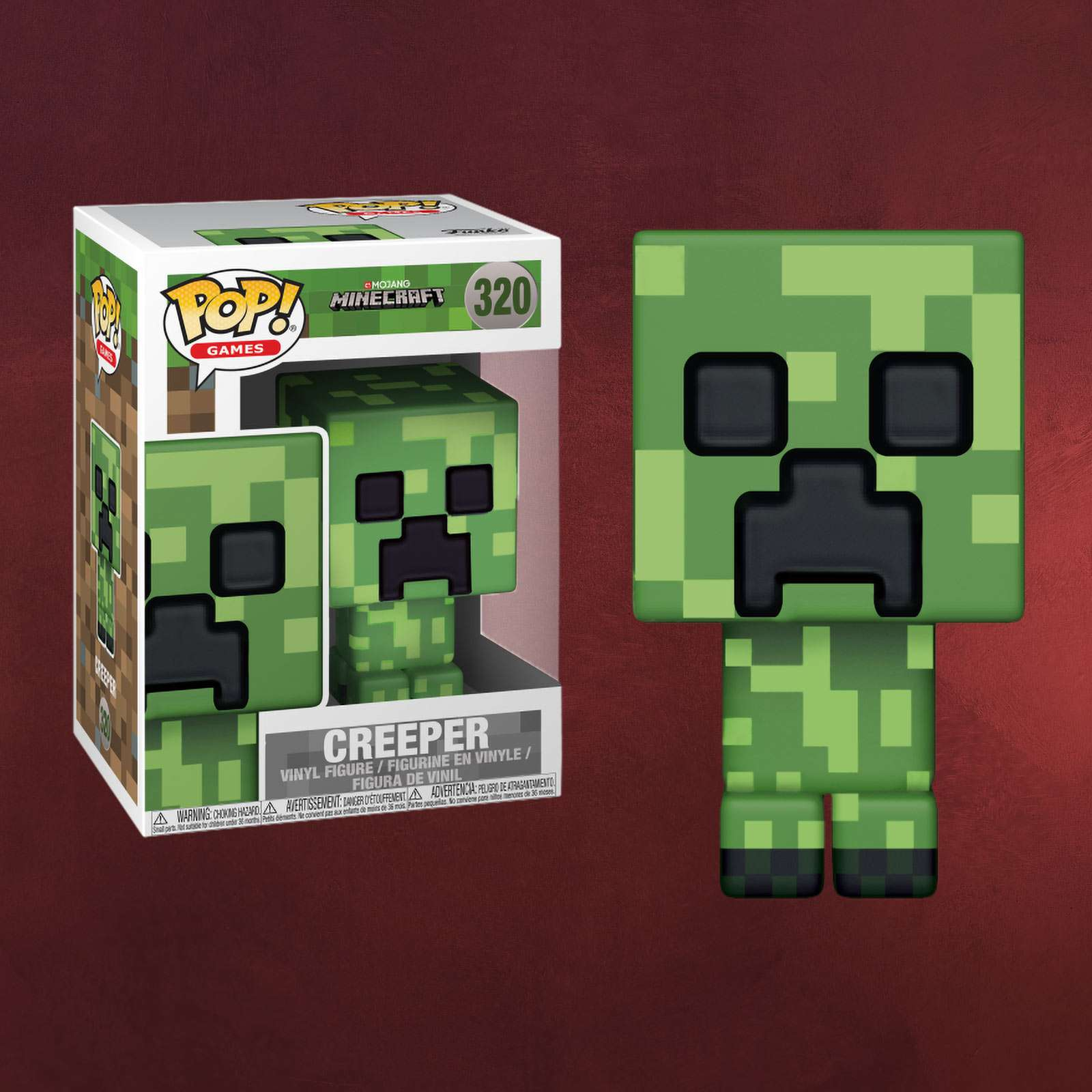 Minecraft Creeper Funko Pop Figur Elbenwald - Minecraft creeper spiele